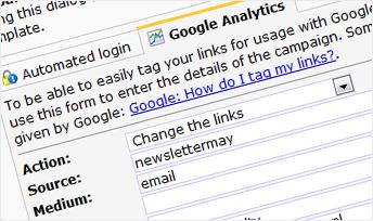 Integration of Google Analytics