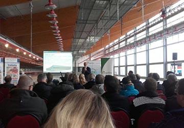 """Presentation by Brian van Hooff during the opening of the Windstreek."""" width="""